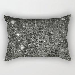 Vintage New Your City Map Rectangular Pillow
