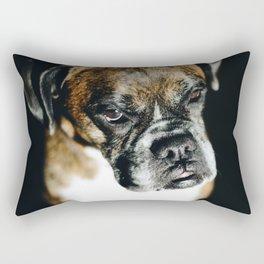 Boxer Dog Rectangular Pillow