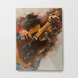 Keith Richards's five string guitar Metal Print