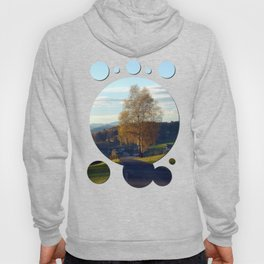 Tree, road and indian summer evening II   landscape photography Hoody