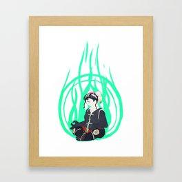 Zen Pilgrimage Framed Art Print