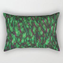 Closeup of Hulk's Brain Rectangular Pillow