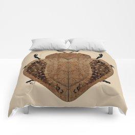 Exotic Wood Tortoise Beetle Comforters