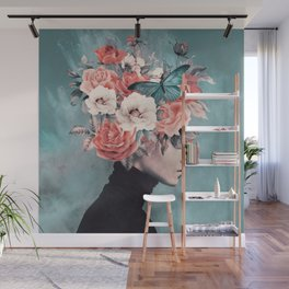blooming 3 Wall Mural
