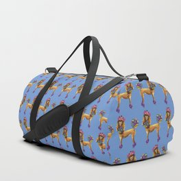 Poodle Dee Doo Two Duffle Bag