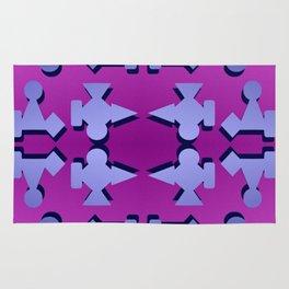 V1 pattern Rug