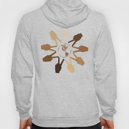 Peace of Earth In Our Hands Hoody