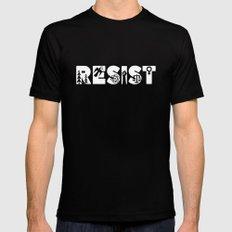 Resist 2X-LARGE Mens Fitted Tee Black