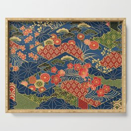 Japan Quilt Serving Tray