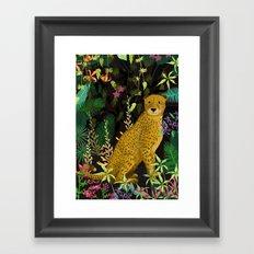 Jungle Leopard Framed Art Print