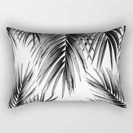 Palm Leaf Jungle Vibes #3 #tropical #decor #art #society6 Rectangular Pillow