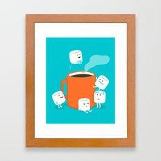 Cannonball Framed Art Print