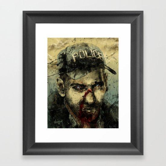 Lame Brain Shane Framed Art Print