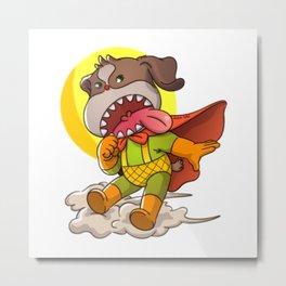Super Dog No.1 Metal Print