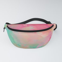 colored explosion Fanny Pack