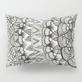 Crescent Mandala Pillow Sham