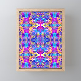 Dizzy Too Two Framed Mini Art Print