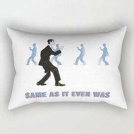 Talking Heads ~ Once In A Lifetime Walk Rectangular Pillow