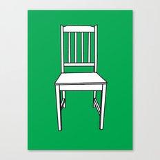 Chair, 2013. Canvas Print