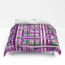 The Plaid Competition Has Begun!  Purple Plaid Has Arrived... Comforters