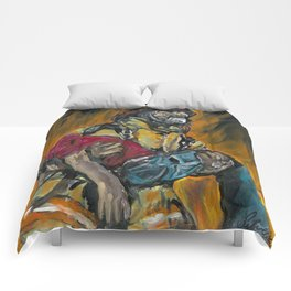 Fire Fighting. Comforters