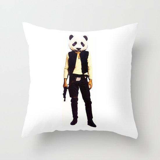 Pan Solo Throw Pillow
