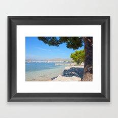 Majorca Sea View Framed Art Print