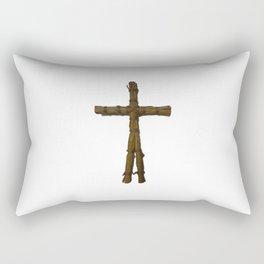 Straw doll(藁人形) Rectangular Pillow