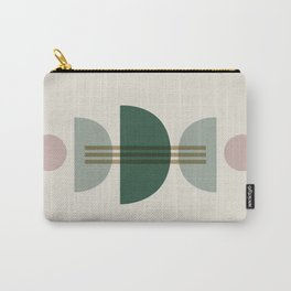 Emerald Abstract Half Moon 1 Carry-All Pouch