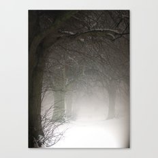 Haunted Memories Canvas Print