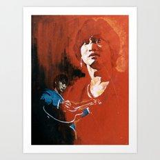 Wong Ka Kui  1962-1993 hong kong rock star Art Print