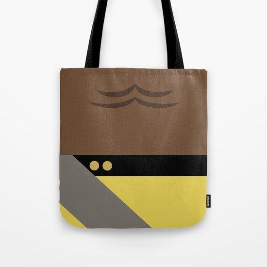 Worf - Minimalist Star Trek TNG The Next Generation - Enterprise 1701 D - startrek - Trektangles Tote Bag