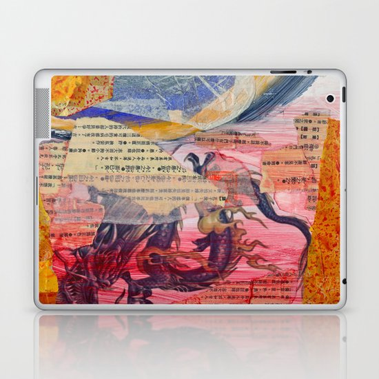 Collage Love - Zhong Long Laptop & iPad Skin