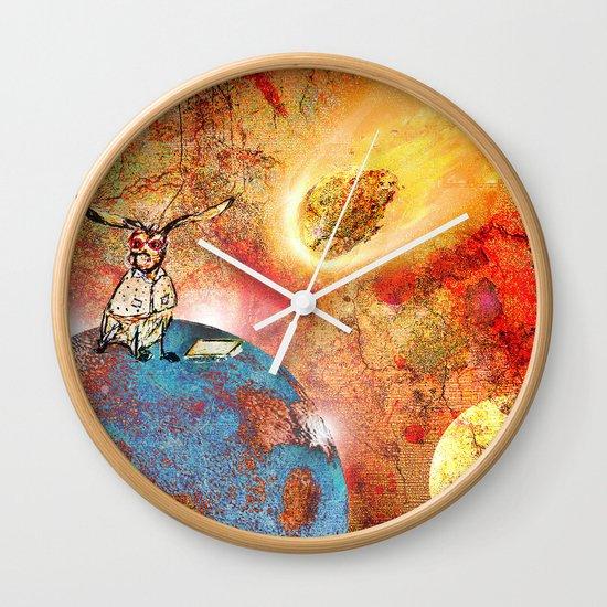 Poor Bertie Wall Clock