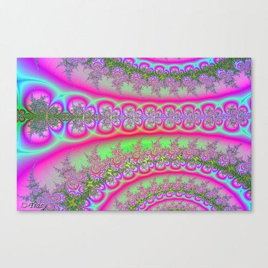 Pink/Blue Canvas Print