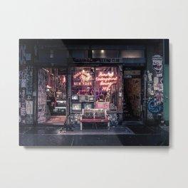 Underground Boxing Club NYC Metal Print