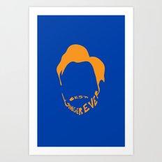 Best Ginger Ever. Art Print