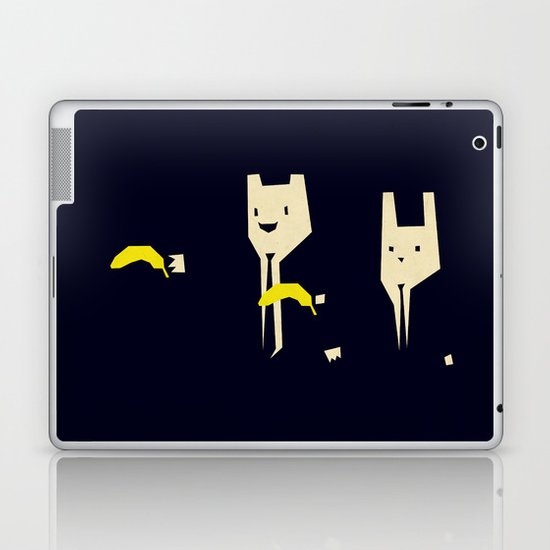 Pulp banana Laptop & iPad Skin