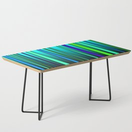 Fresh Blue Coffee Table