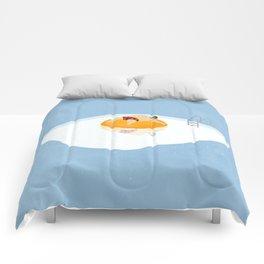 Deep Frying Comforters