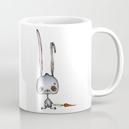 Hungry Rabbit with carrot Coffee Mug