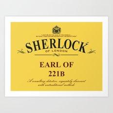 Earl of 221B Art Print