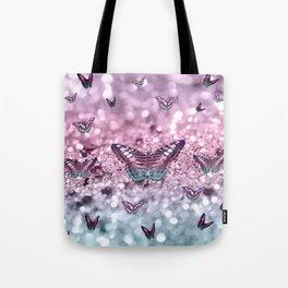 Pastel Unicorn Butterfly Glitter Dream #2 #shiny #decor #art #society6 Tote Bag