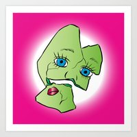 Baby Doll Frankenstein Art Print