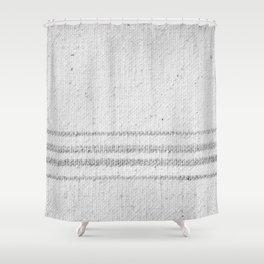 VINTAGE FARMHOUSE GRAIN SACK Shower Curtain