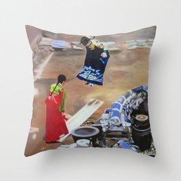 Korean Seesaw Throw Pillow