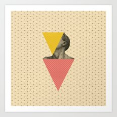 Body and Geometrics  Art Print