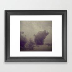 Smokestacks Framed Art Print