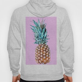 Pineapple On A Pink Background #decor #society6 #homedecor Hoody