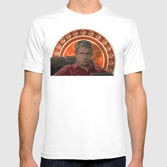 Living with Sherlock Holmes T-shirt